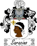 Saracino Family Crest, Coat of Arms