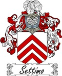 Settimo Family Crest, Coat of Arms