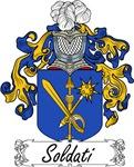 Soldati Family Crest, Coat of Arms