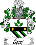 Sozzi Family Crest, Coat of Arms