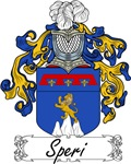 Speri Family Crest, Coat of Arms