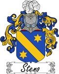 Steno Family Crest, Coat of Arms