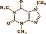 Caffeine Molecular Chemical Formula