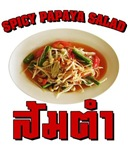 Spicy Papaya Salad (Som Tam)