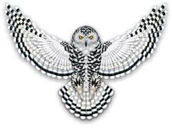 Beadwork Snowy Owl