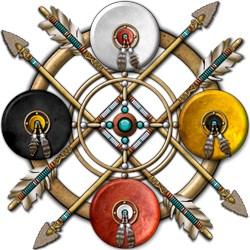 Native Medicine Wheel Mandala