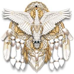 Native American Swan Mandala