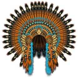 Native War Bonnet 08