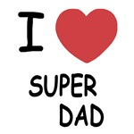 I heart super dad