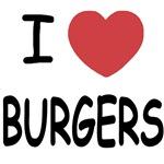 I heart burgers