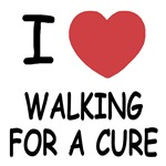 i heart walking for a cure