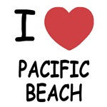 I heart pacific beach