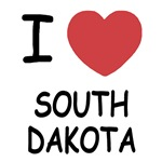 I heart south dakota