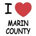 I heart marin county