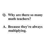 math teachers multiply