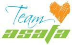 Girl Power unite for Team Asafa