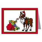 (Mostly) Horse Christmas Cards