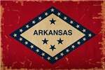 Arkansas State Flag VINTAGE