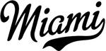 Miami Script Black