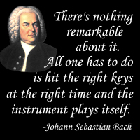 Bach on Playing