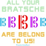 All your Bratsche are Belong to Us