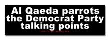 Al Qaeda parrots the Democrats