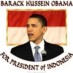 Barack Hussein Obama for President