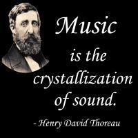 Thoreau on Sound and Music