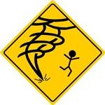 Tornado Warning Men's Apparel