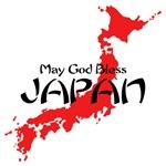 JAPAN - MAY GOD BLESS JAPAN