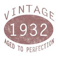 1932 Vintage (Red)