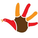 Cute Turkey handprint