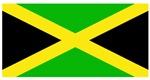 Jamaica Jamaican Blank Flag