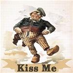 Vintage Kiss Me Irish