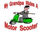 Grandpa Rides A Scooter