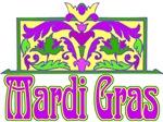 MArdi Gras Sign