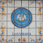 Louisiana Seal Spanish Tile