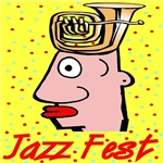 Tuba Head At Jazz Fest