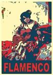 Flamenco Guitar Player Woman in Spain