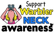 Support Warbler Neck Awareness