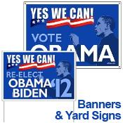 Obama Banners & Signs