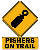 Warning: Pishers on Trail