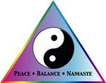 Peace, Balance, Namaste