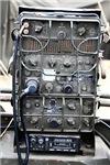 Vintage WWII military radio