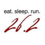 Eat Sleep Run 26.2