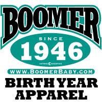 BoomerBaby Year Shirts