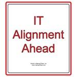 IT Alignment Ahead