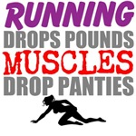 Running Drops Pounds Muscles Drop Panties