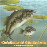 Largemouth Bass Fishing at Hooked-in