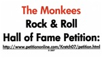 Monkees Rock & Roll Hall of Fame Promo